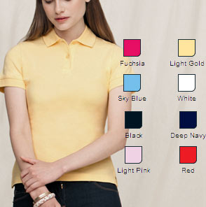 ladies lycra polo shirts